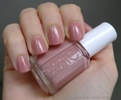 Essie - Eternal Optimist - I cannot find a photo that does this color justice, it is just so pretty. The perfect neutral pink!