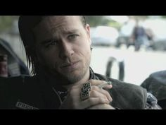 EXCLUSIVE: On The 'Sons of Anarchy' Set with Charlie Hunnam - YouTube