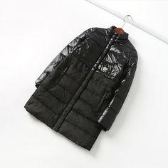 Рекомендуемые оригинальные 2017 зима новый тонкий теплый сплайсинг воротник воротник длинный параграф вниз куртка пальто женская волна - Taobao