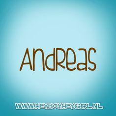 Andreas (Voor meer inspiratie, en unieke geboortekaartjes kijk op www.heyboyheygirl.nl)