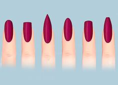Понятия не имела, что существует столько разных видов форм ногтей! Красота — в разнообразии… Благодаря этим идеям твой маникюр всегда будет неповторимым: можно попробовать разные формы ноготков и подобрать самую удачную. Приятно, когда руки выглядят ухоженно и оригинально, это так поднимает настроение! Красивая форма ногтей Круглая форма Отлично смотрится на коротких ногтях! Подходит всем, у