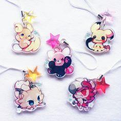 150 Pokemon, Pokemon Pins, Cute Pokemon, Acrylic Keychains, Acrylic Charms, Artist Alley, Kawaii Accessories, Hello Kitty, Cute Keychain