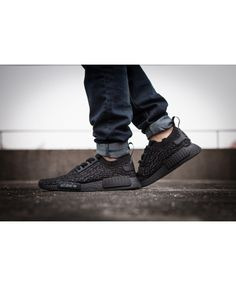 81ca42894 Adidas NMD Runner X Yeezy Boost 350 Pirate Black Shoes