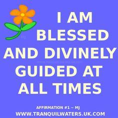 Positive Affirmations - Affirmation Images - Positivity - Motivation - Inspiration - Affirmation quotes - Positive Living