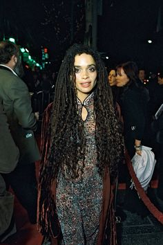 The R29 Long Hair Hall Of Fame #refinery29 http://www.refinery29.com/long-hair-celebrities#slide-16 Lisa Bonet Looking at this picture of the fabulous Lisa Bonet is giving us some major nostalgia. We wanted to be Denise Huxtable so bad — she just seemed so cool and stylish. Case in point: This epic dreaded hairstyle. If someone had worn this 'do on the Oscars red carpet, we might have been more inspired. Someone needs to get this woman back on TV, asap. Photo: BEImages