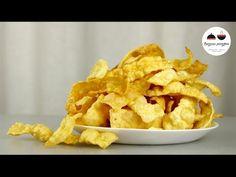 ХВОРОСТ  Самый простой и самый ХРУСТЯЩИЙ  Crispy Сookies - YouTube