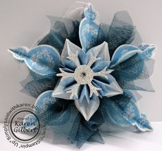 Icy Christmas Decoration by kaygee47 - Cards and Paper Crafts at Splitcoaststampers