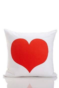 heart pillow.