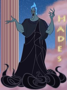 Fave outfit (Blue 30 Day Challenge, Day # 13; Mouse Ears Challenge, Day # 28): Hades smoky black toga
