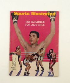 July 10, 1967 Sports Illustrated Magazine - Muhammad Ali Cover