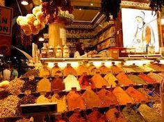 Egyptian spice market! <3
