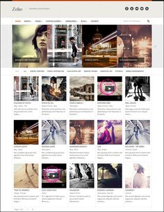 Ready for some cool Grid-Style WordPress Themes