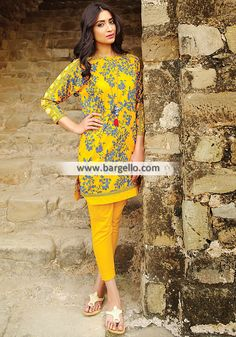 WL8600 Branded Lawn Suits Summer Season Khaadi Lawn Collection Vol-2 2015 - UK USA Canada Australia Saudi Arabia Bahrain Kuwait Norway Sweden New Zealand Austria Switzerland Germany Denmark France Ireland Mauritius and Netherlands