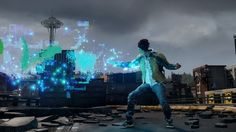 inFamous: Second Son - Video Manipulation