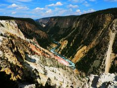 Grand Canyon of the Yellowstone, Wyoming | Best Scenic Drives In The US