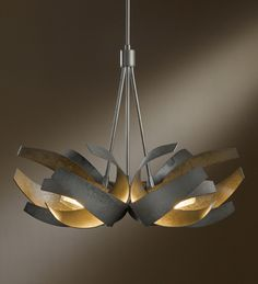 Buy the Hubbardton Forge Black Direct. Shop for the Hubbardton Forge Black Corona 6 Light Wide Abstract Pendant with Customizable Glass Shade and save. Interior Lighting, Home Lighting, Entrance Lighting, Beach Lighting, Stair Lighting, Entrance Foyer, Modern Chandelier, Chandelier Lighting, Unique Lighting