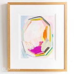 Custom Picture Frames for Less | framed & matted