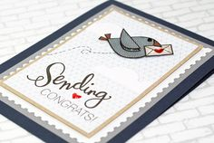 Round Here: Sending Congrats   SSS July Card Kit