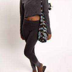 Cotton fair trade yoga bags and totes by Peace Exchange that support women who make them