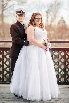 Plus size brides are beautiful too.