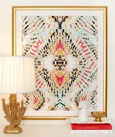 "LOVE her prints. ""Brittle Stars Baby Blue"" art print by COZAMIA  #art, #decor, #cozamia"