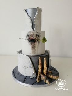 Ostrich  by MOLI Cakes