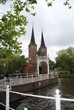 The Oostpoort in Delft, The Netherlands. Photo J. Stolte