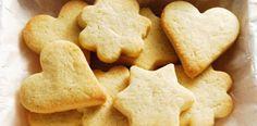 Receta de galletas de mantequilla con 3 ingredientes y nada mas!