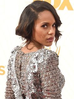 Kerry Washington at the 2015 Emmy Awards