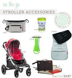 My favorite stroller accessories