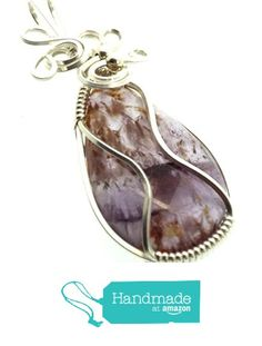 Super 7 Gemstone Sterling Silver Wire Wrapped Pendant from Angelleesa Designs https://www.amazon.co.uk/dp/B01KO3PVQ0/ref=hnd_sw_r_pi_dp_UfM7xb4GJWJNS #handmadeatamazon