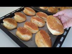 Hot Dog Buns, Hot Dogs, Hamburger, Bread, Youtube, Food, Brot, Essen, Baking