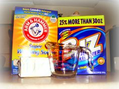 Homemade laundry detergent! Must do! No harsh, unnecessary chemicals added.