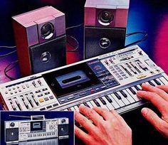 Casio KX-101 Keyboard Boombox 1986