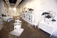 Head Over Heels Pop up stores by U LA LA Events, Madrid, Barcelona store design