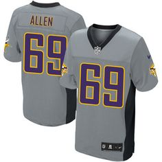 70ed2ac2b shop the official Vikings store for a Men s Nike Minnesota Vikings  69  Jared Allen Limited