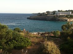 Lovely view here that Fay had in #Majorca - Love a good bay on #holiday
