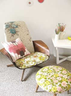 Floral Patterns For Home Décor: 37 Cool Ideas