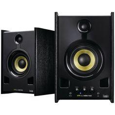 Hercules DJ XPS 2.0 80 DJ Monitor Speakers (Black)