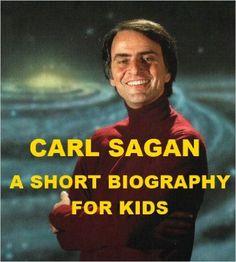 Carl Sagan - A Short Biography for Kids Carl Sagan, Biography, Astronomy, Kindle, Amazon, Store, Movies, Movie Posters, Amazons