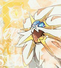 Solgaleo! Pokémon sun and moon! Solgaleo is so cool!