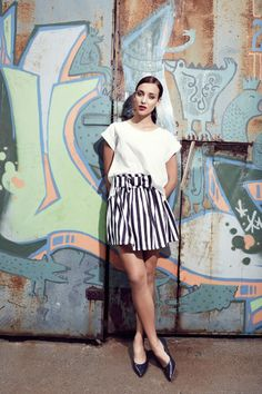 Lookbook January 2014: Crossing The Line « The spree journal Line, Skater Skirt, January, Mini Skirts, Journal, Fashion, Moda, Fishing Line, Fashion Styles