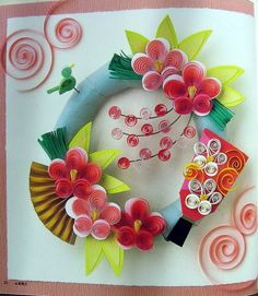 Quilling is relatively a new paper craft technique and many of the crafters don't work in it. I learnt it around 8 years back through a craft magazine and though I don't quill that often yet I love the delicacy of the art. Paper Quilling Tutorial, Quilling Paper Craft, Quilling Flowers, Quilling Patterns, Quilling Designs, Quilling Ideas, Toilet Roll Art, Pinterest Cards, Paper Crafts Magazine