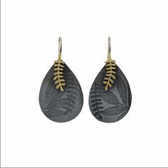 Leaf Earrings 4 by Robin Wells at eclecticartisans.com