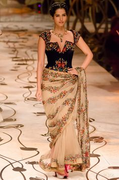 Rohit Bal's collection for India Bridal Fashion Week - absolutely stunning