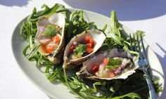 Oysters natural with Thai dressing - Kidspot