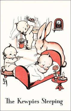 Rose O´Neill's Kewpie Babies via playle.com