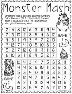 Math games 208080445267691610 - Print & Play: Halloween Math Games Source by karendoxsie Halloween Worksheets, Halloween Activities, Holiday Activities, Halloween Fun, Halloween Games For Kids, Costume Halloween, Math Classroom, Kindergarten Math, Classroom Activities