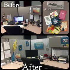 Cubicle makeover :-)