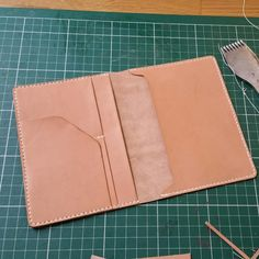 Veg tan passport cover
